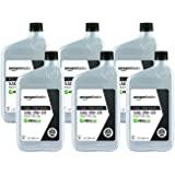 AmazonBasics Full Synthetic Motor Oil, SN Plus, 0W-20, 1 Quart, 6 Pack