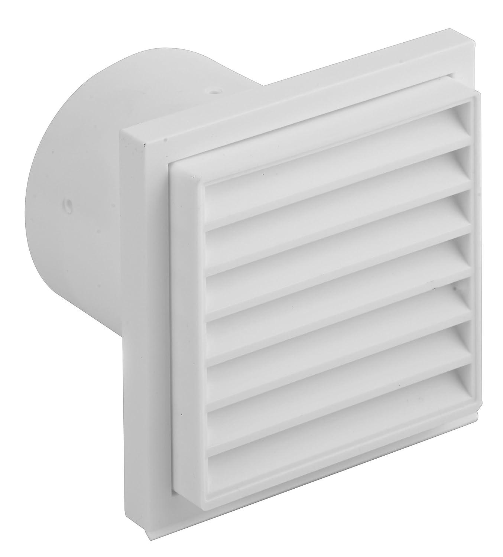 /Rejilla de ventilaci/ón con conexi/ón del surtidor DN 125 color blanco 1/pieza Upmann/ 66272