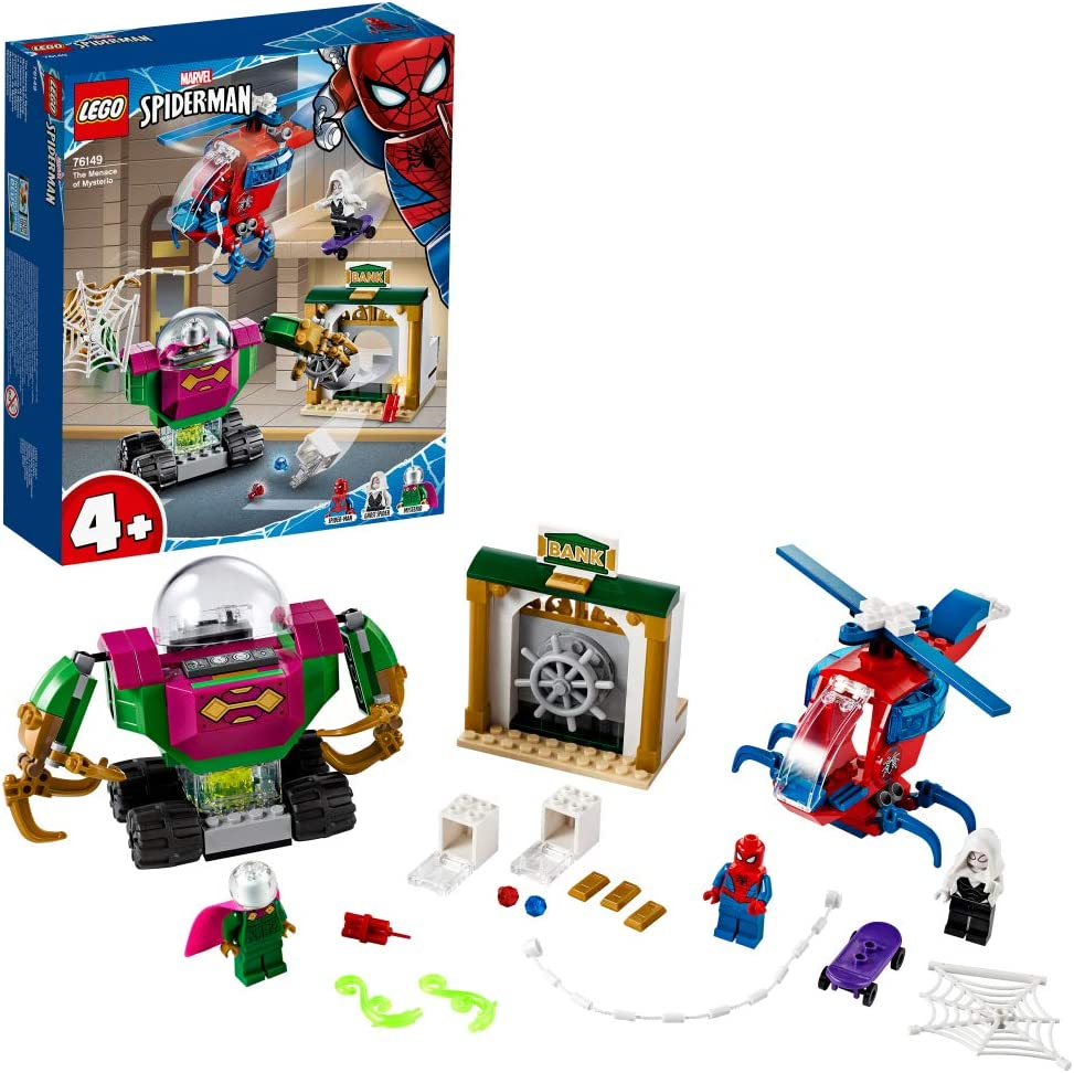レゴ(LEGO) スーパー・ヒーローズ スパイダーマン ミステリオの脅威 76149