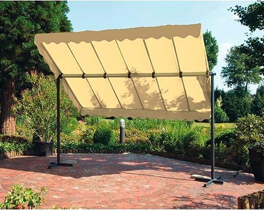 EQT-TEC Toldo sol protección Balcón Jardín Terraza Wind sombra dispensador de cielo: Amazon.es: Jardín
