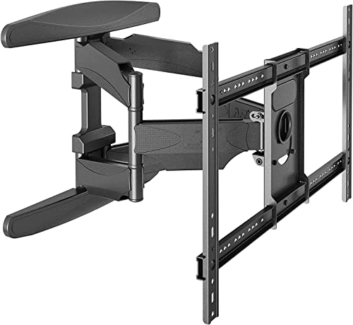 NB North Bayou TV Wall Mount Tilting Bracket for Most 50-70 Inch TVs up to VESA 500x400mm and 125lbs Loading Capacity DF70-T 40 -70 100lbs Load