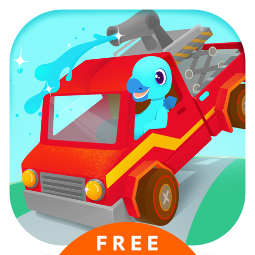 (Fire Truck Rescue Free - Fire fighter & Driving Simulator Games for kids)