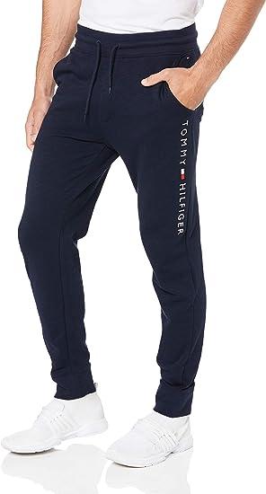 Amazon Com Tommy Hilfiger Pantalones Deportivos Para Hombre Color Azul S Clothing