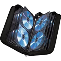 Hama 11617 CD wallet for storing 104 CDs/DVDs/Blu-rays, Black