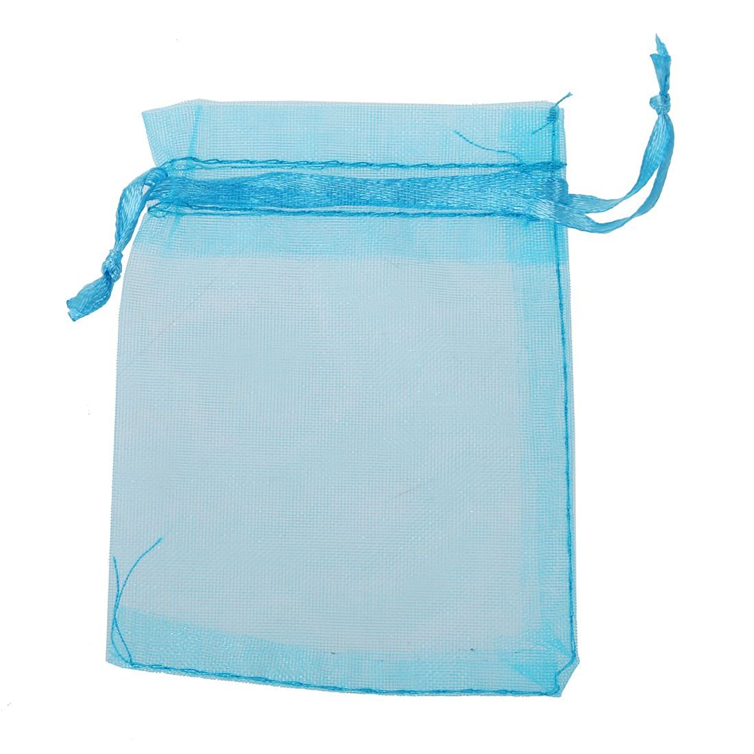 Gift Bags - SODIAL(R)10 PCS 7x9cm Organza Jewelry Candy Gift Pouch Bags Wedding Xmas Favors Royal blue TRTA11A
