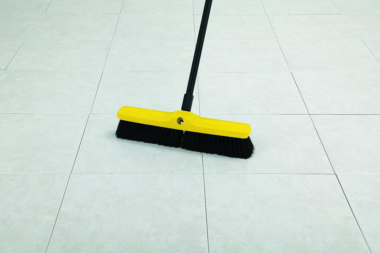 Rubbermaid Commercial FG9B1500MARN Coarse Polypropylene and Polystyrene Heavy-Duty Floor Sweep Maroon