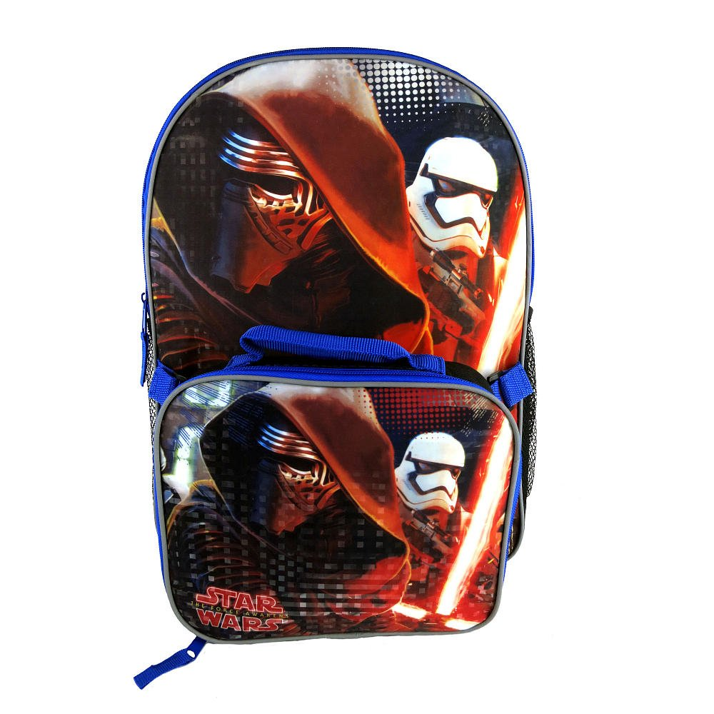 Star Wars 41cm Backpack with Detachable Lunch Box -   B01BP3VKZY