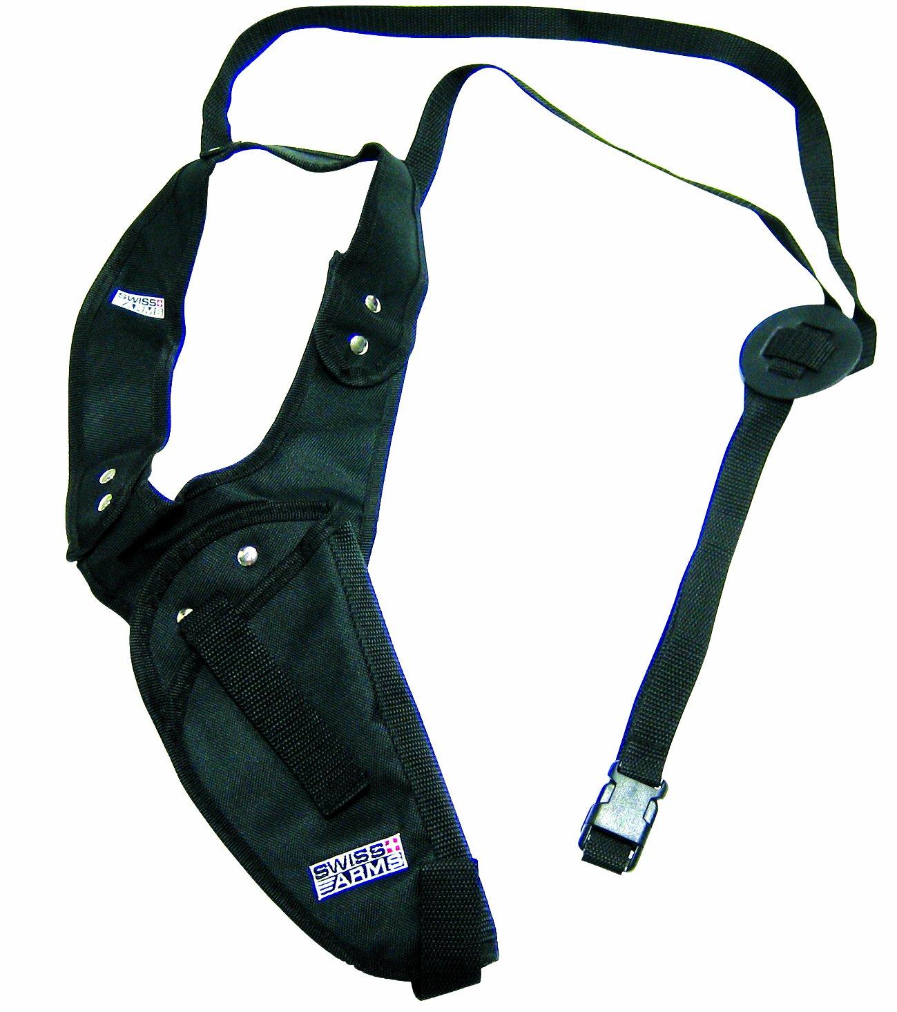 Swiss Arms - Funda vertical para el hombro, color negro, 201245