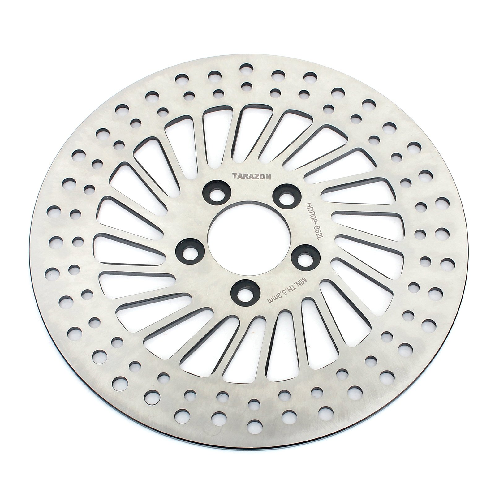 TARAZON 11.8'' Rear Brake Disc Rotor For Harley Touring 1690 1584 Electra Glide Road King Road Glide Street Glide 2008-2015 by TARAZON