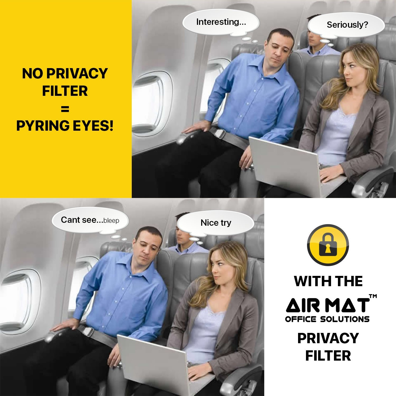 Anti-Spy Privacy Screen Filter A1370 // A1465 Protector de Pantalla para MacBook Air 11 Pulgadas Filtro de Privacidad Premium AirMat