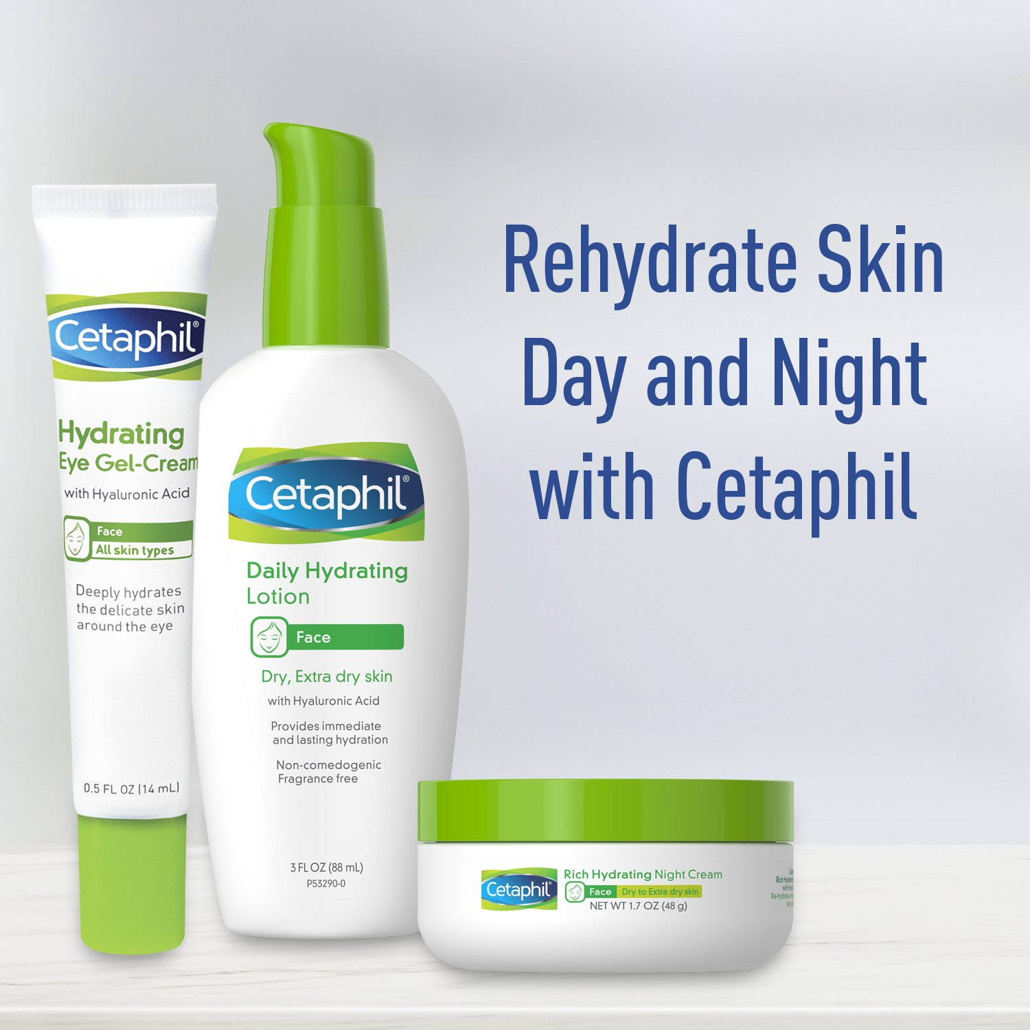 Cetaphil Hydrating Eye Gel For Hydrate Brighten And Smoothen