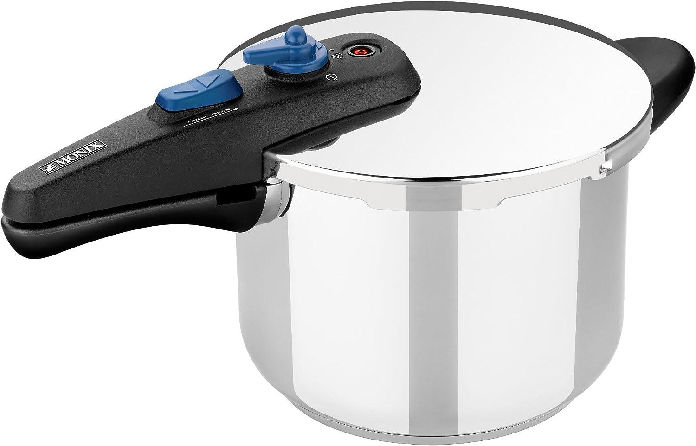 Monix Veloce - Olla a Presión Rápida de 6 Litros, apta para todo tipo de cocinas incluída inducción.