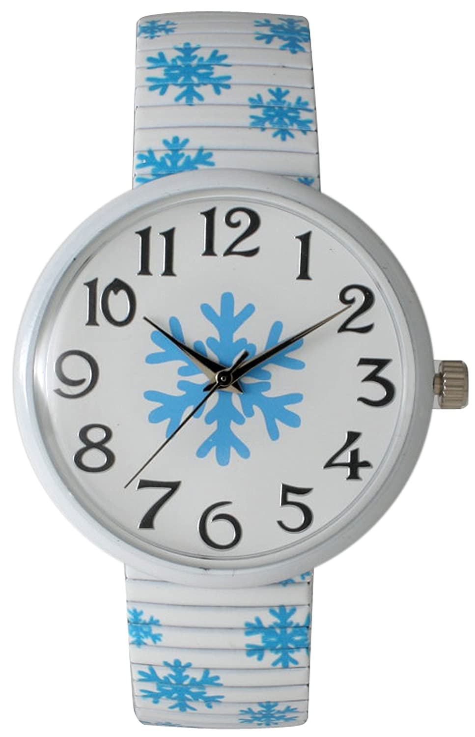 Amazon.com: Christmas Stretch Watch with Special Design on Band (Christmas Candy Green): Clothing
