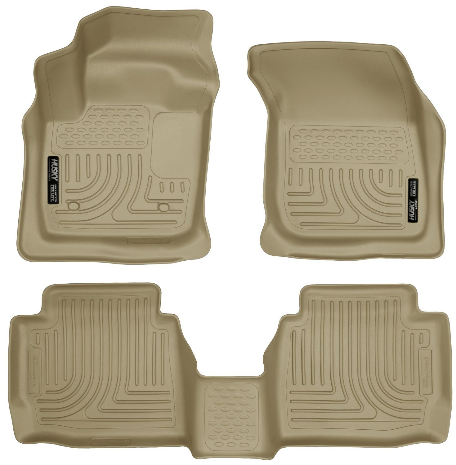 Husky Liners Front /& 2nd Seat Floor Liners Fits 13-16 Fusion Energi//Titanium 99753