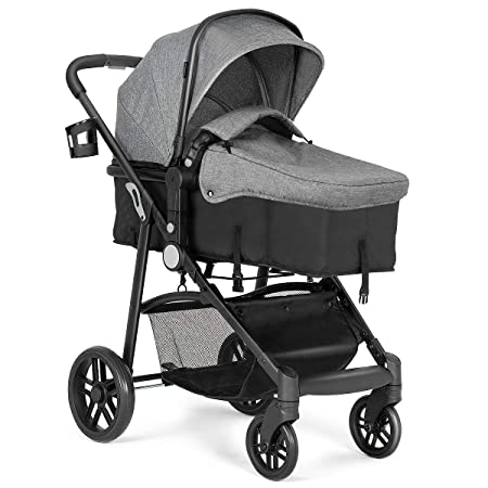 Amazon Com Costzon Baby Stroller 2 In 1 Convertible Carriage