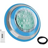 Roleadro Led Pool Light, Waterproof IP68 47W RGB Swimming Pool Lights Multi Color(Not Include White) , 12V AC/DC Led Inground