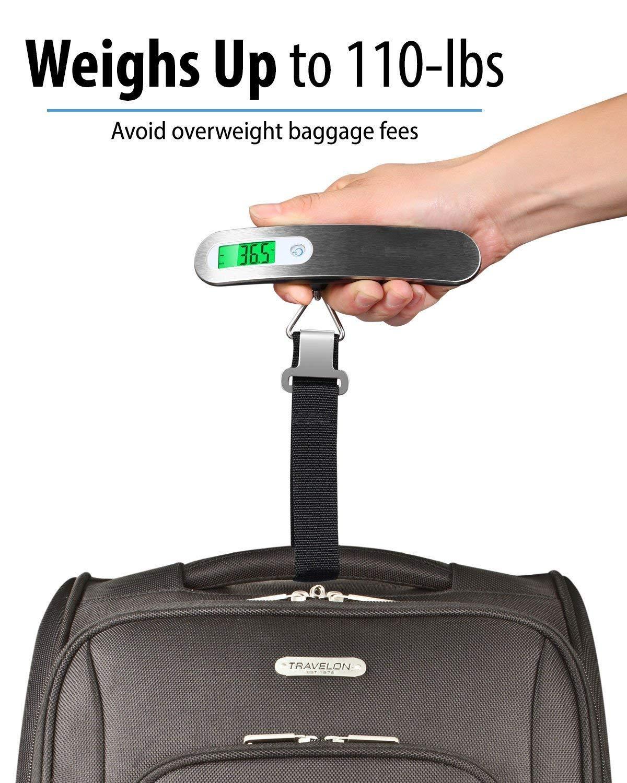 Amazon.com: Tashke - Báscula digital para equipaje con ...