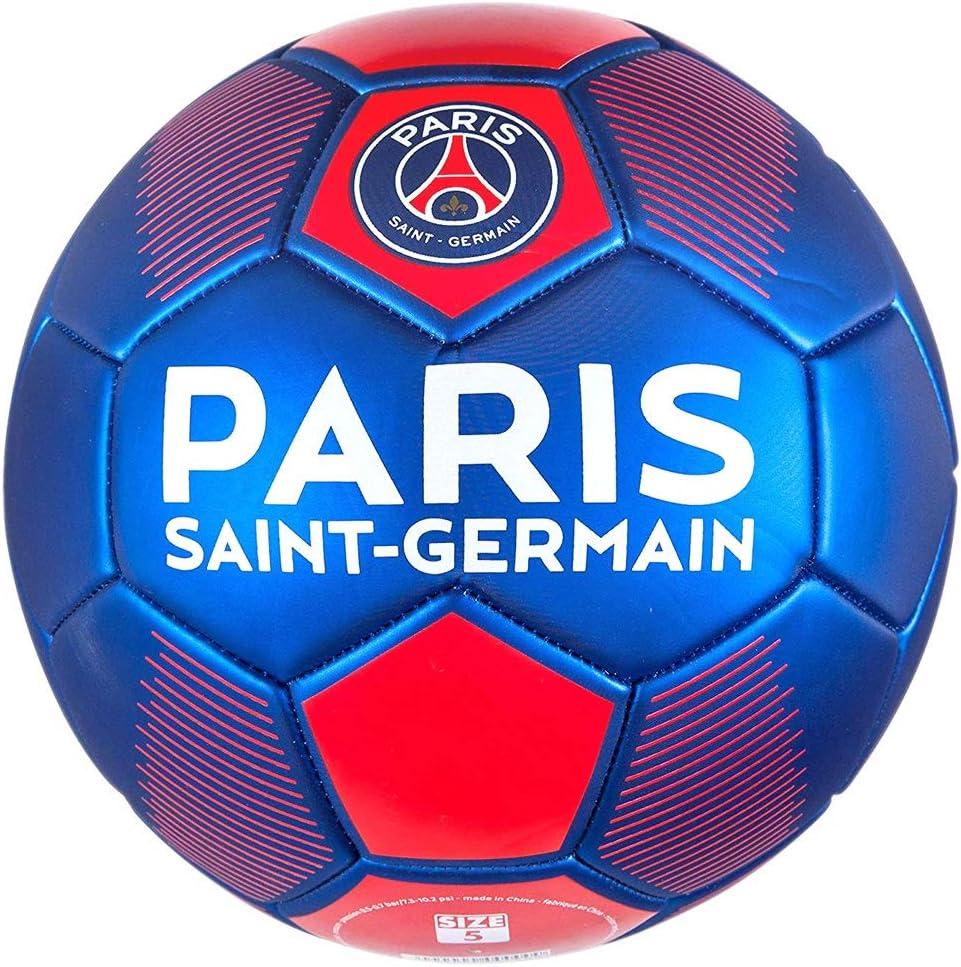 PSG - Balón de fútbol Oficial de París Saint-Germain - Azul ...