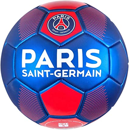 Amazon Com Psg Official Paris Saint Germain Mini Soccer Ball Blue Sports Outdoors