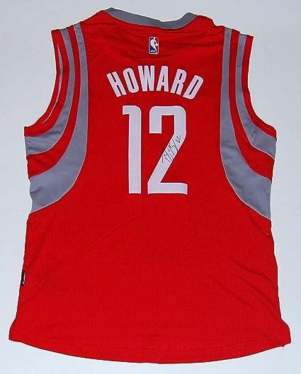 b319383fe Signed Dwight Howard Jersey - RED SWINGMAN W COA - Autographed NBA Jerseys