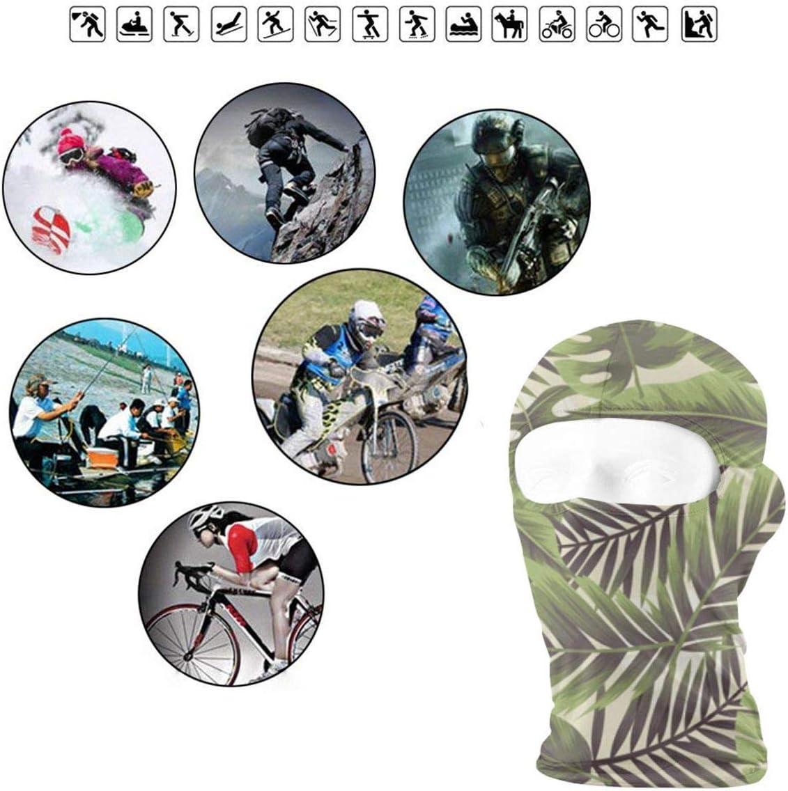 CAClifestyle Wild Nature Bright Background Unisex Windproof Balaclavas Full Face Mask Hood