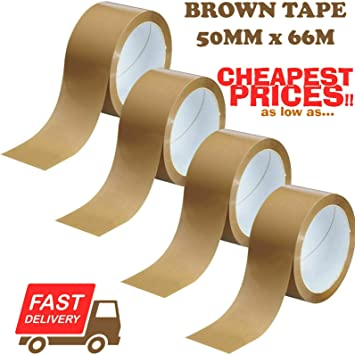 3 Big Clear Extra Strong Parcel Carton Tape Packing Roll Packaging UK Seller