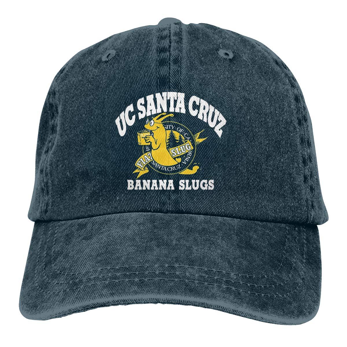 UC Santa Cruz Banana Slugs Gorra de Vaquero Ajustable clásica para ...