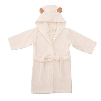 Organic Bamboo Hooded Bathrobe Towel Thick /& Soft Toddler Robe Channing /& Yates Premium Baby Robe