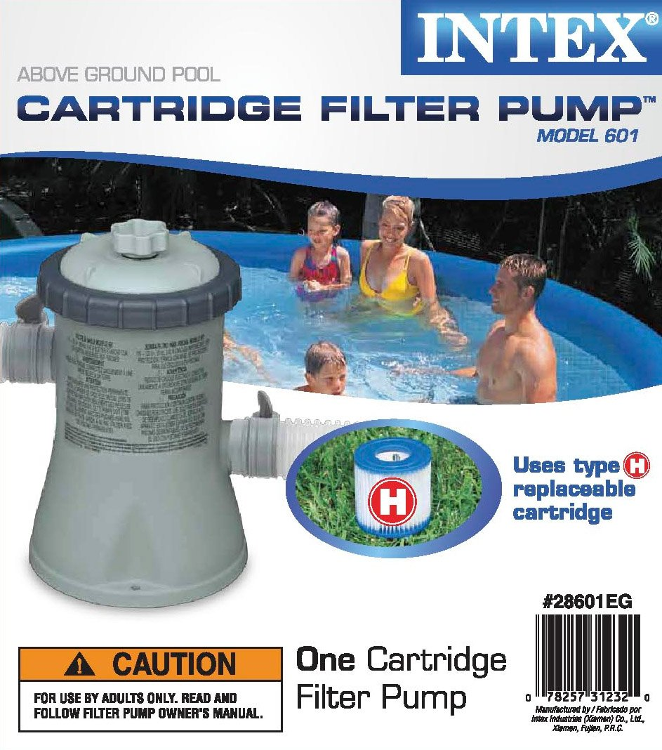 Intex 8 x 30 Easy Set Inflatable Swimming Pool with 330 GPH Filter ...