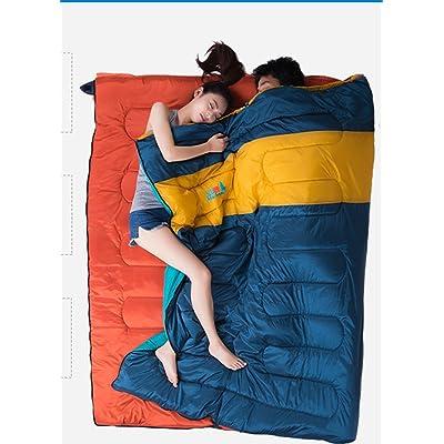 Printemps extérieur mince sac de couchage de camping adulte dormir modèles sac de luxe