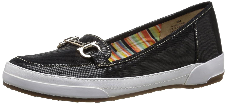 Anne Klein Sport Women's Tameron Fabric Boat Shoe
