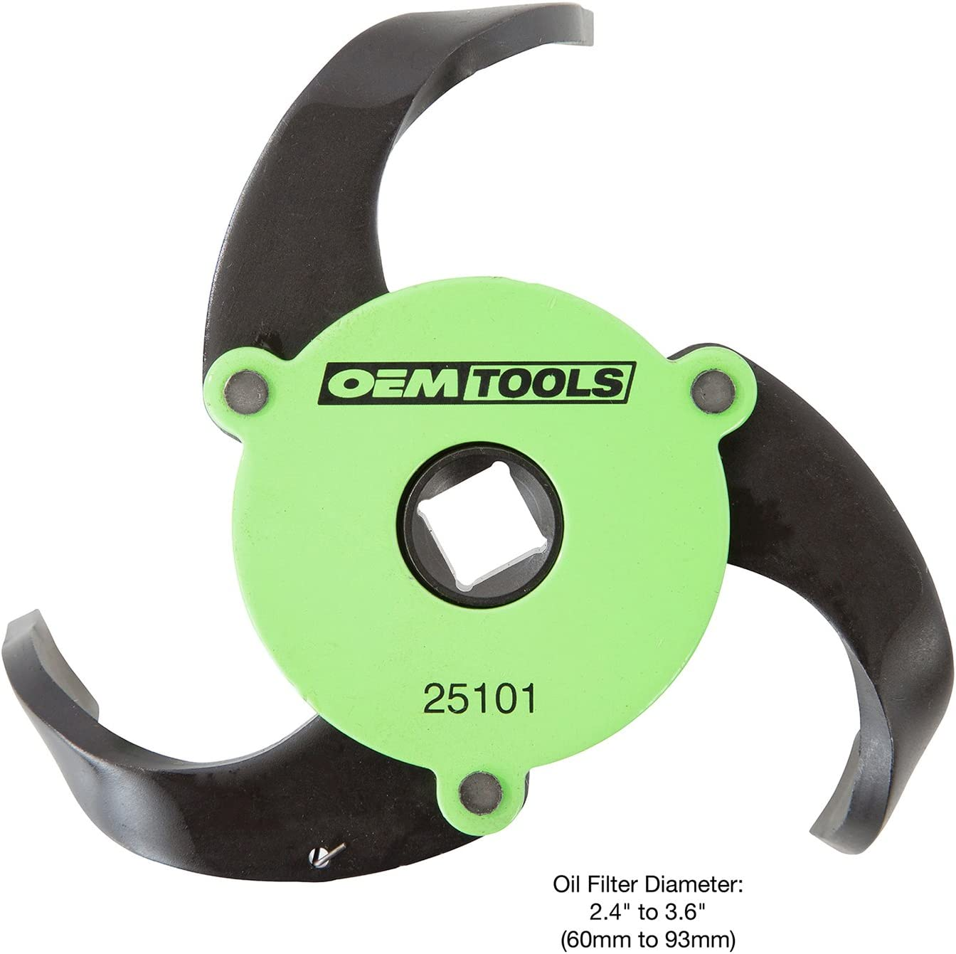 OEMTOOLS 25101 3-Jaw Adjustable Magnetic Oil Filter Wrench
