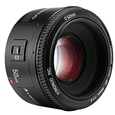 YONGNUO YN50 50mm F1.8 Lente Enfoque de Gran Apertura automática ...