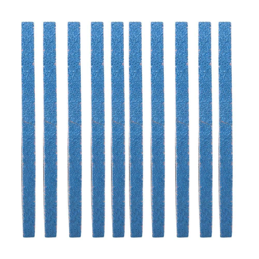 40# 10pcs pon/çage de bande ponceuse polissage bande abrasive corindon zirconium outil de meulage papier de verre bois de polissage du bois accessoires en m/étal 457 x 13mm