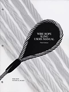 wire rope user manual fourth 4th edition editors amazon com books rh amazon com Wire Rope Slings Wire Rope Terminology