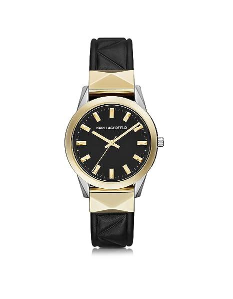 Karl Lagerfeld - Reloj de pulsera Mujer negro y dorado Marca Tamaño UNI