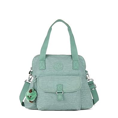 5a95317e9b Amazon.com: Kipling Pahneiro Handbag Fern Green: Shoes