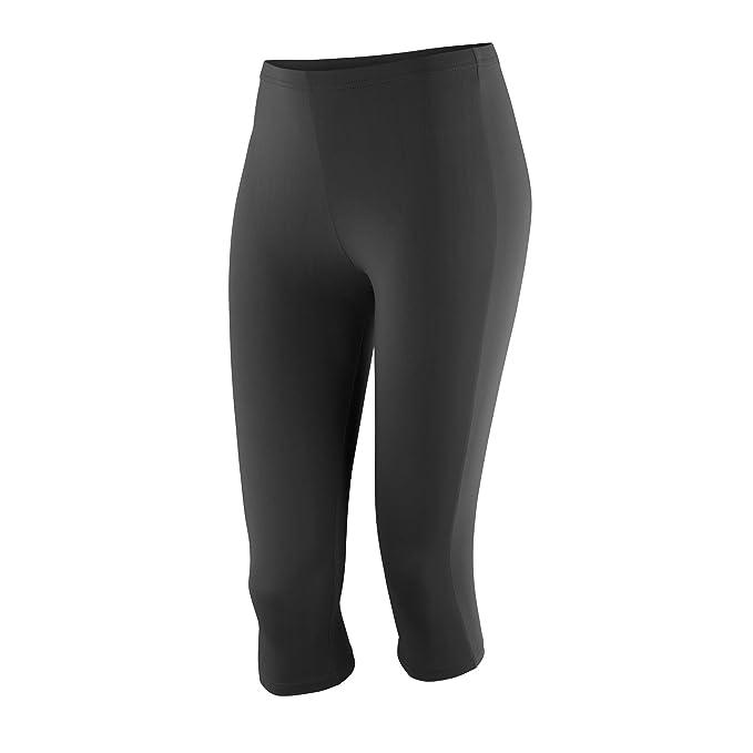 36d7f8a2 Spiro Womens/Ladies Impact Softex Breathable Capri Pants at Amazon ...