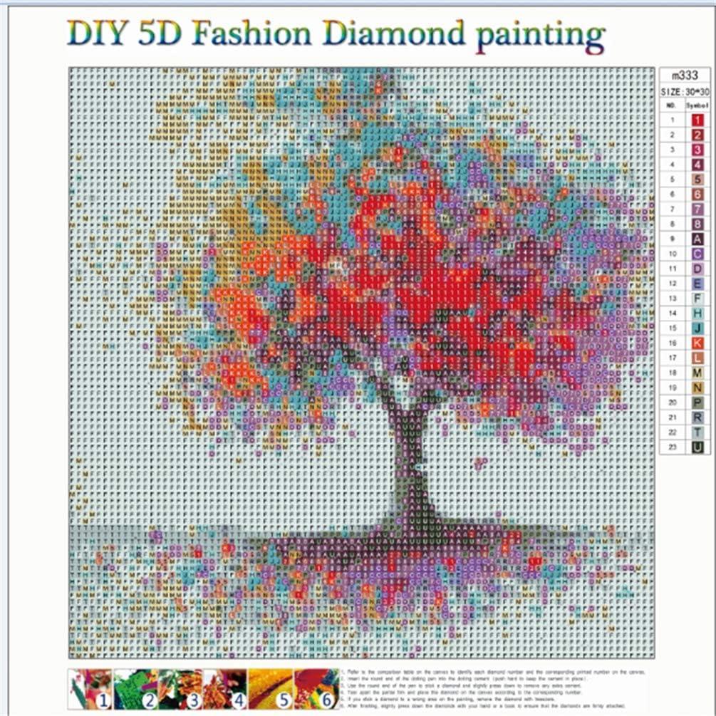 5D Diamond Painting Full Bilder Gro/ß Strass Stickerei Malerei Kunsthandwerk f/ür Wanddekoration SULISO Diamant Painting Bilder