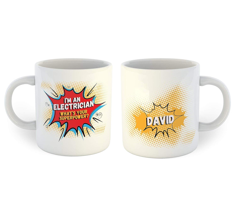 Im An Electrician Super Power Coffee Mug