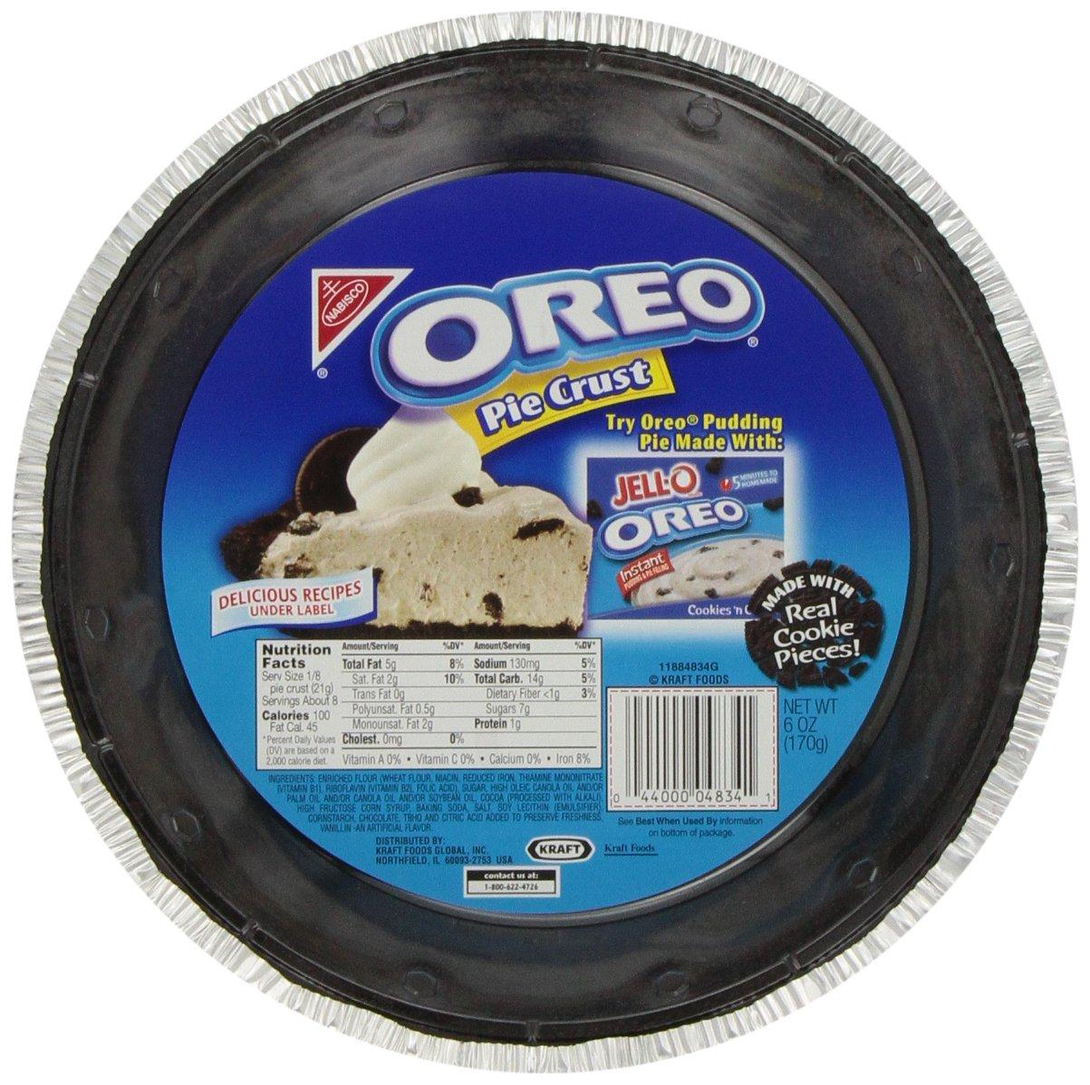 Oreo Pie Crust, 12 Ounce