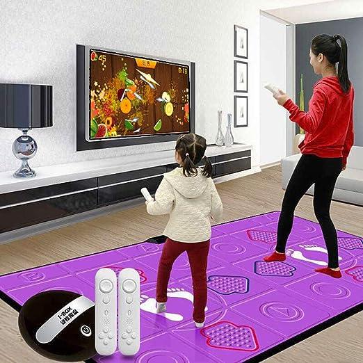 alfombra de baile de PU Consola de Juegos de Doble ...