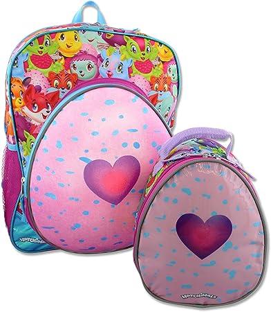 """3D Hatchimals Backpack 16/"""" Hatching Egg Backpack Girl Hatching Egg Surprise"""