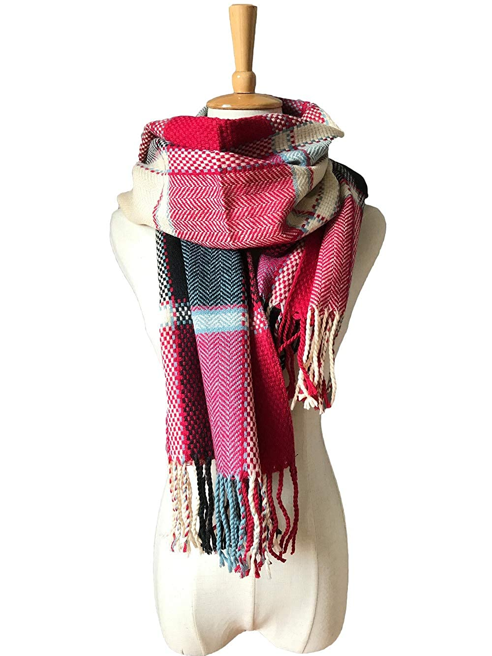 new British college style plaid scarf and air conditioner shawl