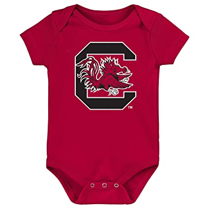be13fd941 Future Tailgater South Carolina Gamecocks Logo Baby Onesie (3-6 Months)
