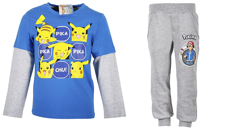 Pokemon - Chándal - para niño gris 4 años : Amazon.es: Ropa y ...