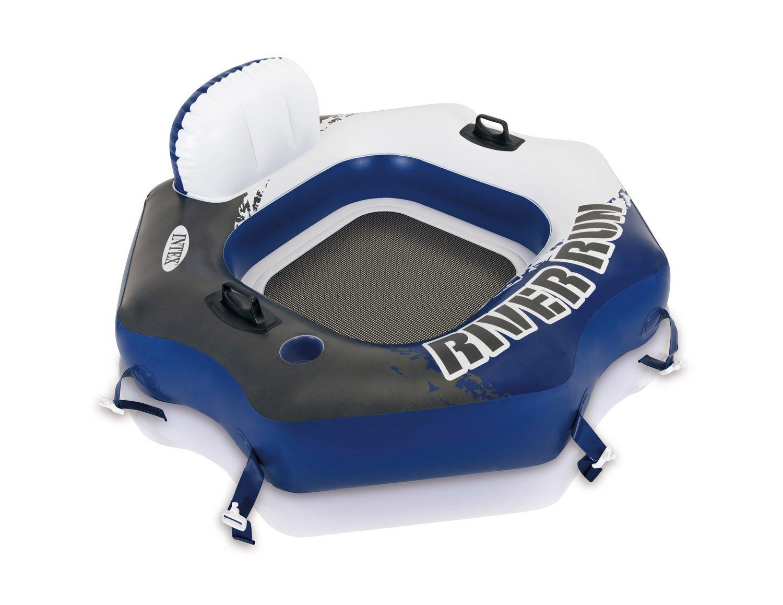 Intex River Run Inflatable Lounger (4 Pack) & Pool Lake Tube Float (2 Pack) by Intex (Image #2)
