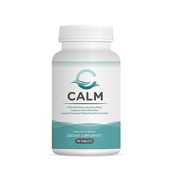 Amazon.com: Suplemento Calm antiestrés natural, con ...