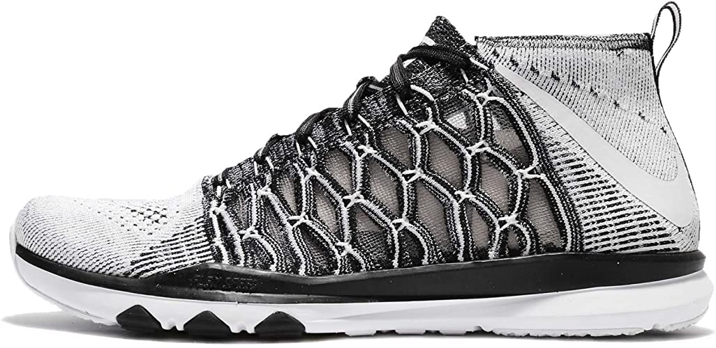 Contratación Valiente Incidente, evento  Nike Train Ultrafast Flyknit, black/white: Amazon.co.uk: Shoes & Bags