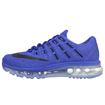 Nike Women's Wmns Air Max 2016, RACER BLUE/BLACK-CHALK BLUE-BLUE